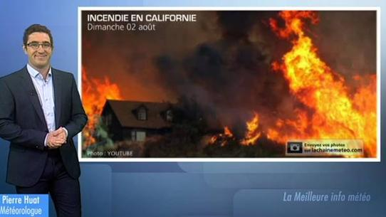 Incendies en Californie, Inondations en Floride